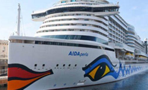 El crucero AIDAPerla fue bautizado en Palma de Mallorca