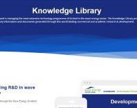 Nueva biblioteca de proyectos de energía undimotriz