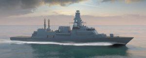 Comienza la construcción de las fragatas Tipo 26 de la Armada británica