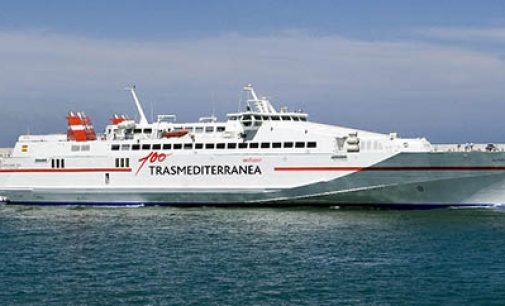 Trasmediterránea amplía hasta el 1 de octubre la conexión Gandía-Ibiza de alta velocidad