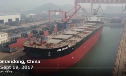 Ore Tienjin: el mayor mineralero del mundo