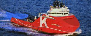 KL Sandefjord, primer OSV con notación de clase Shore Power