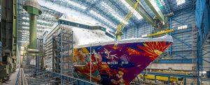 En noviembre el mercado Chino tendrá un nuevo crucero