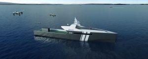 Rolls-Royce revela sus buques de guerra autónomos