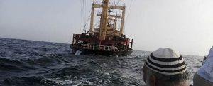 Se hunde un buque de carga frente a Omán