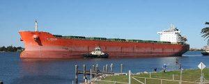 Nueva advertencia sobre los peligros del transporte de bauxita por vía marítima