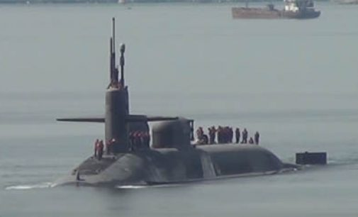 El submarino USS Colorado se entrega a EE.UU.