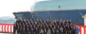 Bautizado el LNG Oceanic Breeze