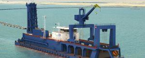 Royal IHC construirá las nuevas dragas para el Canal de Suez