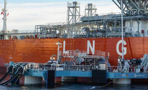 Probada con éxito la primera transferencia de GNL con el UTS