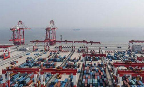 Automatización portuaria de Shangai