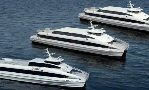Noruega construye tres catamaranes de alta velocidad para China