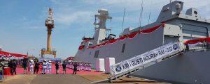 La Armada de Indonesia recibe la segunda fragata PKR KRI I Gusti Ngurah Rai