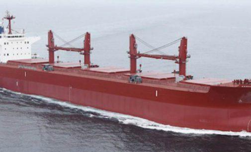 MES entrega el granelero M.V. Venezia de 60.000 tpm