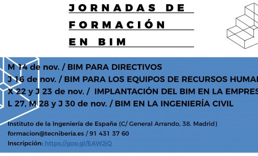 Jornadas de formación en BIM