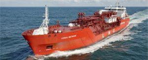 Conversión del Coral Methane en buque de suministro