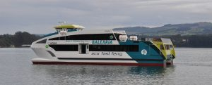 """Botadura del nuevo """"eco fast ferry"""" Eco AQUA de Baleària"""