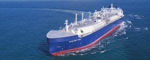 El LNG rompehielos Eduard Toll finaliza las pruebas de gas