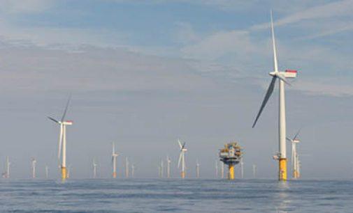 Drones para inspeccionar parques eólicos offshore