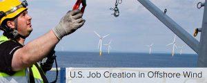 La eólica offshore podría crear 36.000 trabajos en EE.UU.