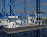 Nuevo diseño de jack up de OOS Energy