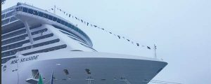 Se entrega el crucero MSC Seaside