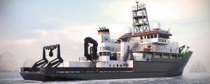 El nuevo buque de investigación de los EE.UU.