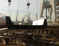 Navantia pone la quilla del primer buque logístico para la Marina Australiana