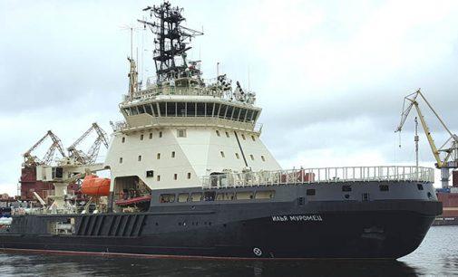 Ilya Muromets, nuevo buque multipropósito rompehielos de la Armada rusa