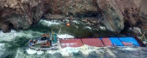 Encalla el granelero Little Seyma en aguas griegas