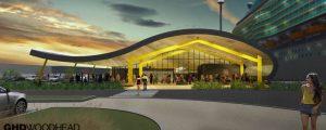 Este será el aspecto de la nueva terminal de cruceros del puerto de Newcastle
