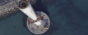 La torre telescópica del aerogenerador Elisa ya está en Gran Canaria
