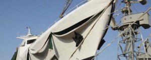 Botadura del nuevo patrullero para la Agencia de Seguridad Marítima pakistaní