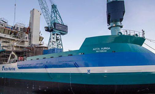 SOV Acta Auriga, el nuevo buque offshore de Ulstein