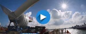 GE instala su primer aerogenerador en China
