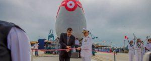 Puesta de quilla del segundo buque multipropósito de la Marina de Guerra del Perú