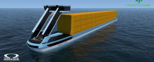 La primera barcaza completamente eléctrica navegará por Europa este otoño