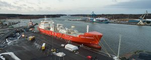 Primer buque gasero LNG con clase Hielo 1A Super