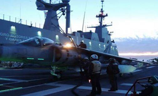 Exposición sobre el centenario de la aviación naval española