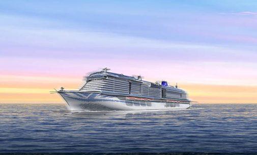 Nuevo buque para P&O Cruises propulsado con GNL