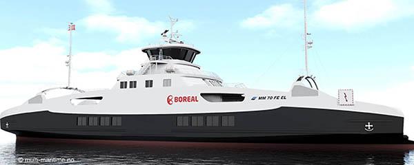 ferry eléctrico Vard