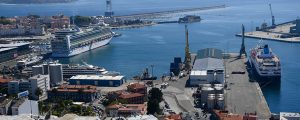 184.069 cruceristas visitaron el puerto de A Coruña en 2017
