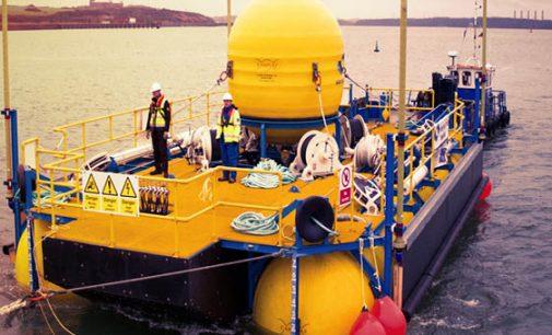 El dispositivo undimotriz WaveSub comienza sus pruebas de mar