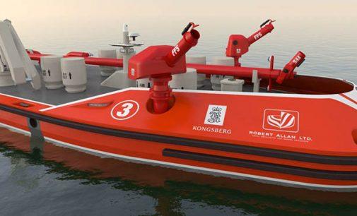 RALamander: barco contraincendios autónomo