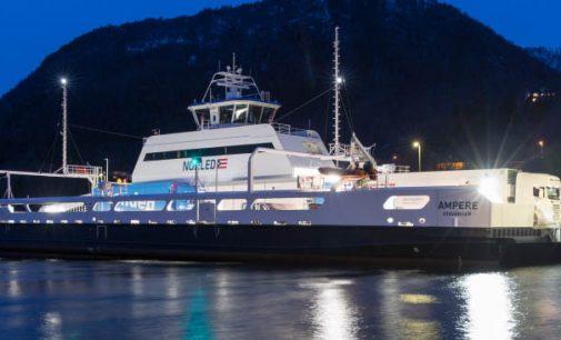 Aumenta la cartera de pedidos de buques totalmente eléctricos