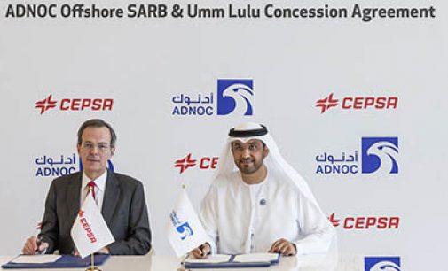 Cepsa y Abu Dabi firman un contrato de concesión offshore