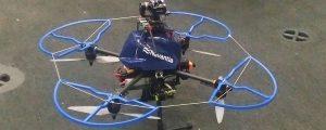 Navantia presenta el uso de drones en sus astilleros