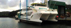 Botadura del Eco Lux de Baleària