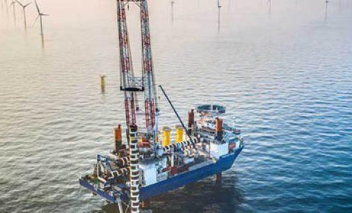 Los buques de Jan De Nul instalarán los aerogeneradores de Borkum II