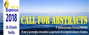 Jornadas Técnicas ENERMAR: Se amplia el plazo del CALL FOR PAPERS al 13 de abril